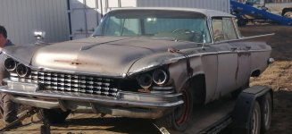 1959 Buick Parts vehicle