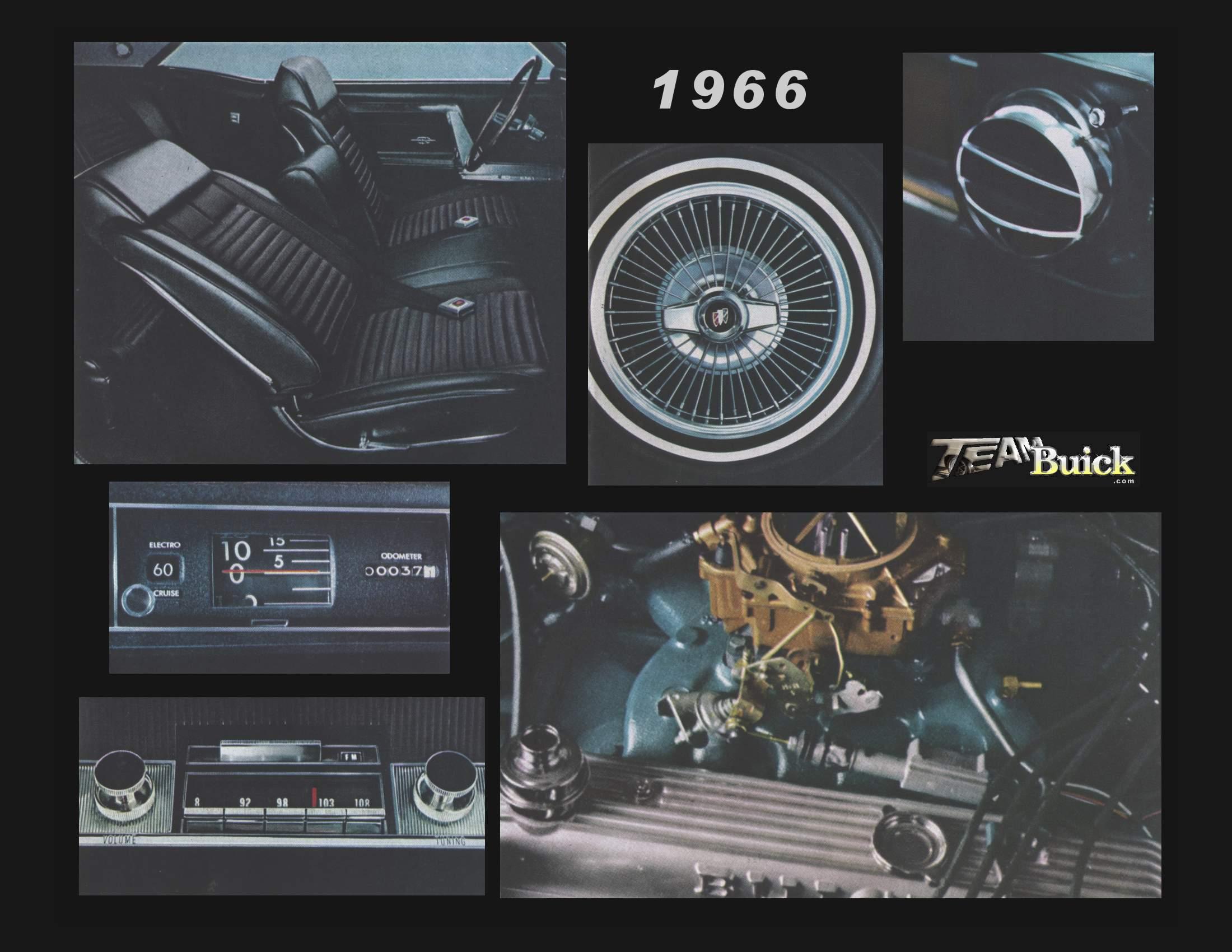 1966 Buick Riviera Interior Poster