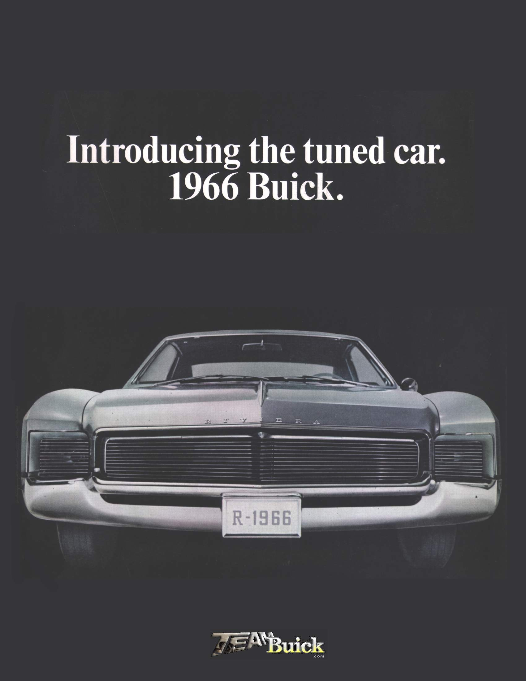 Introducing the tuned car. 1966 Buick.