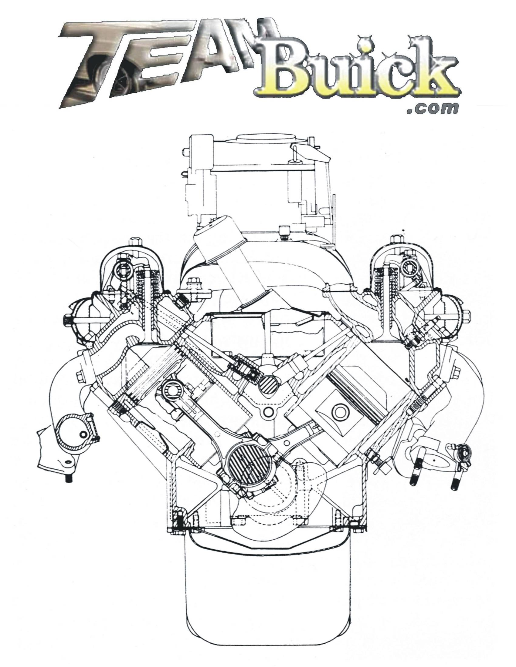 Buick Nailhead outline
