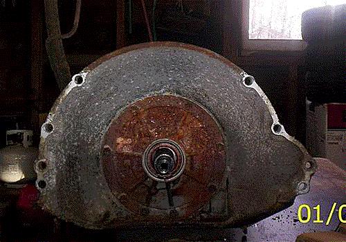 Nailhead turbo bellhousing pattern