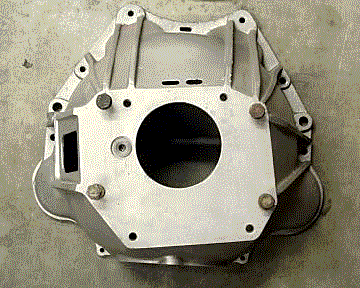 BOPC manual transmission bell housing