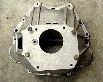 BOPC manual transmission bell housing