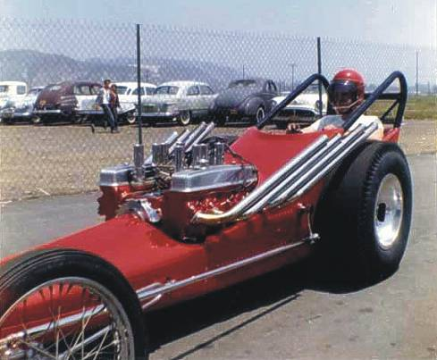 Ivo's single nailhead dragster