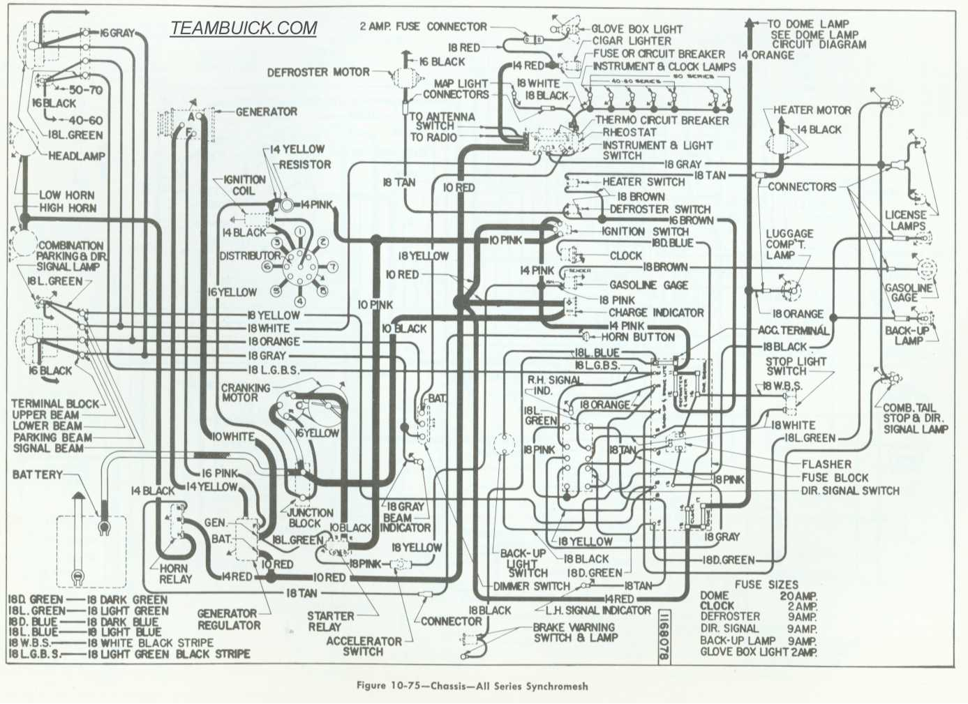 75 Buick Wiring Diagram Will Be A Thing 1998 Century Radio 1955 Diagrams Rh Teambuick Com Regal Stereo