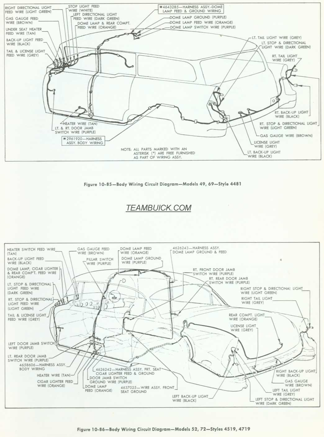 buick general motors wiring diagrams