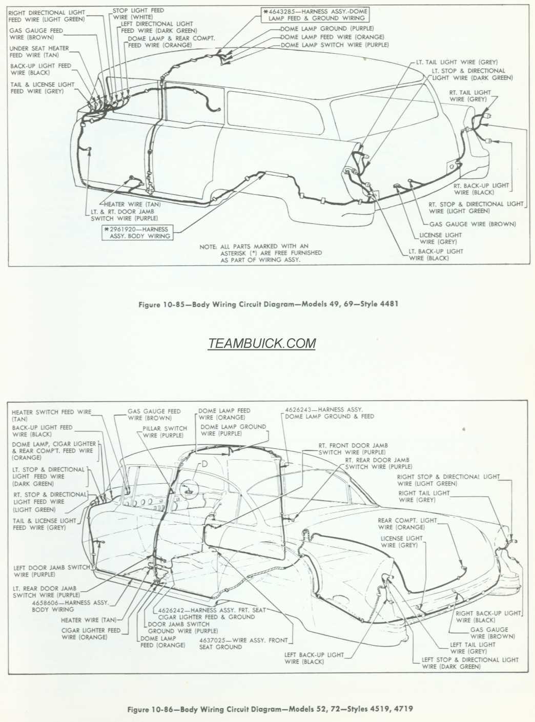 Buick General Motors Wiring Diagrams ImageResizerTool Com