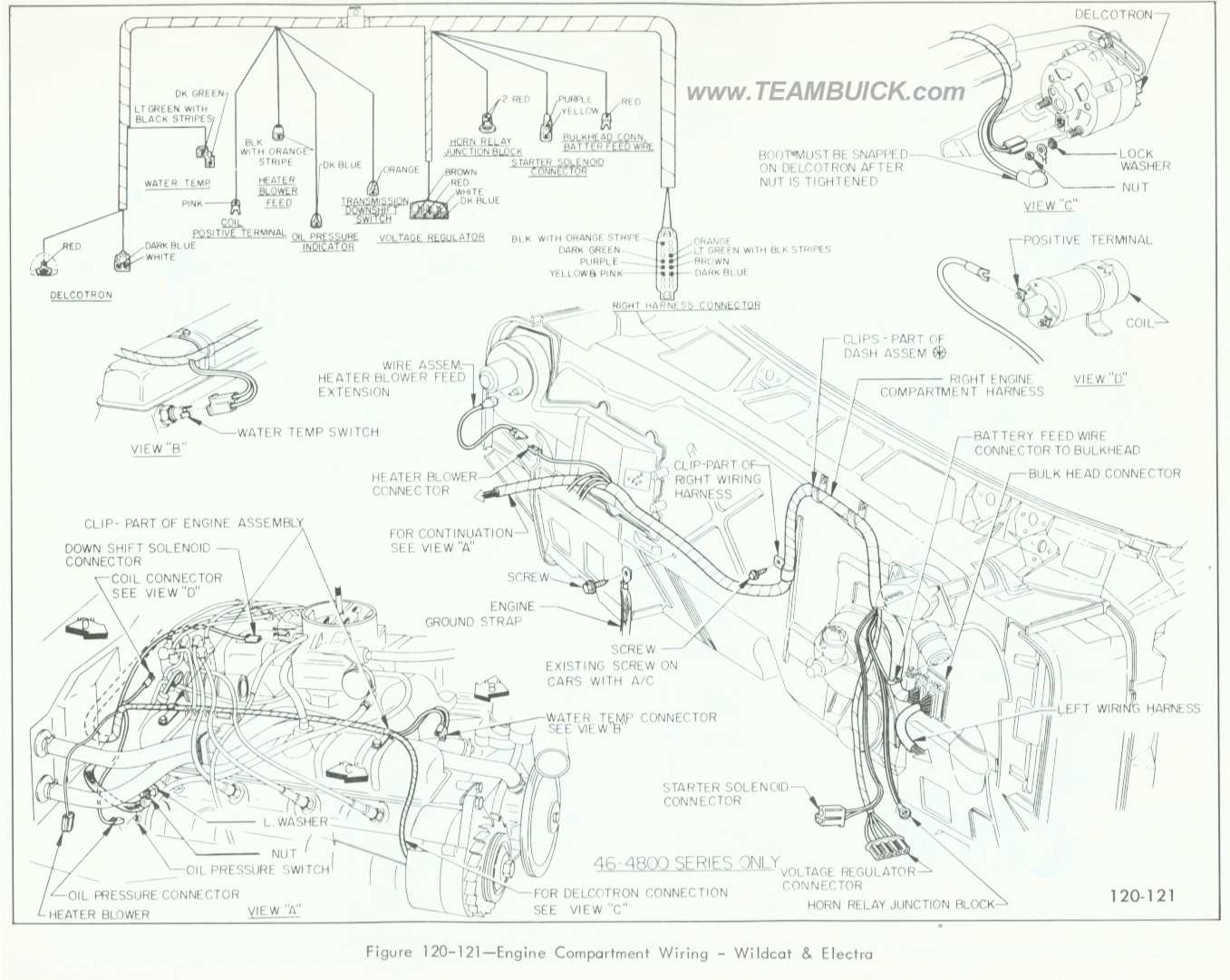 [CSDW_4250]   1966 Buick Wildcat, Electra, Engine Compartment Wiring | 1966 Buick Wildcat Wiring Diagram |  | Team Buick