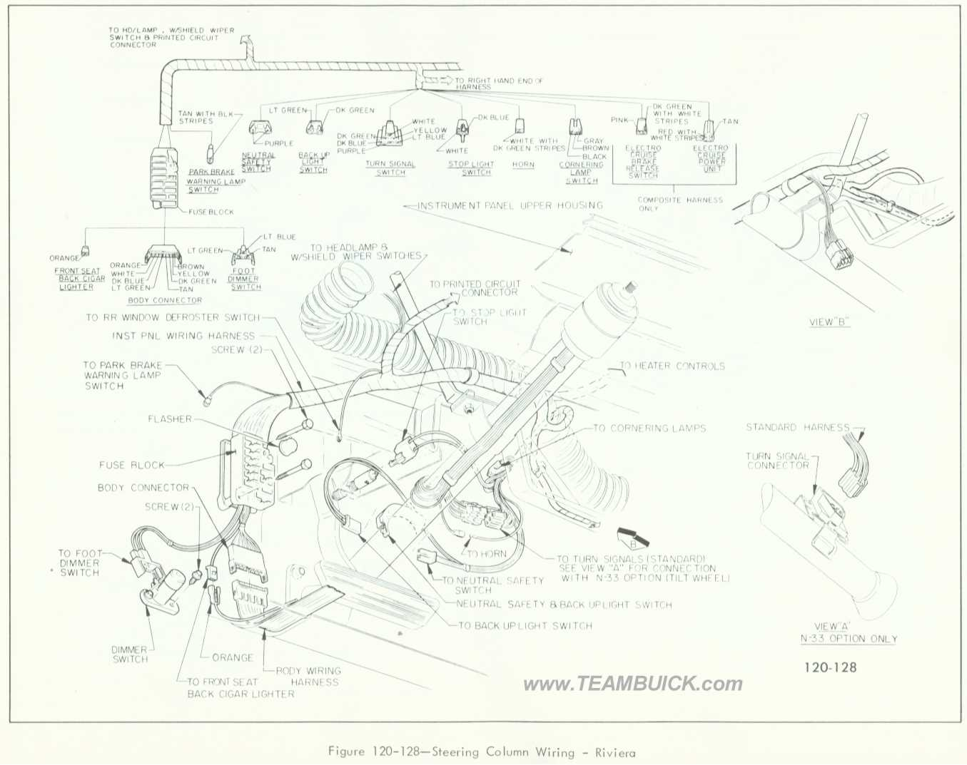 1966 buick skylark column wiring diagram 1966 chevy