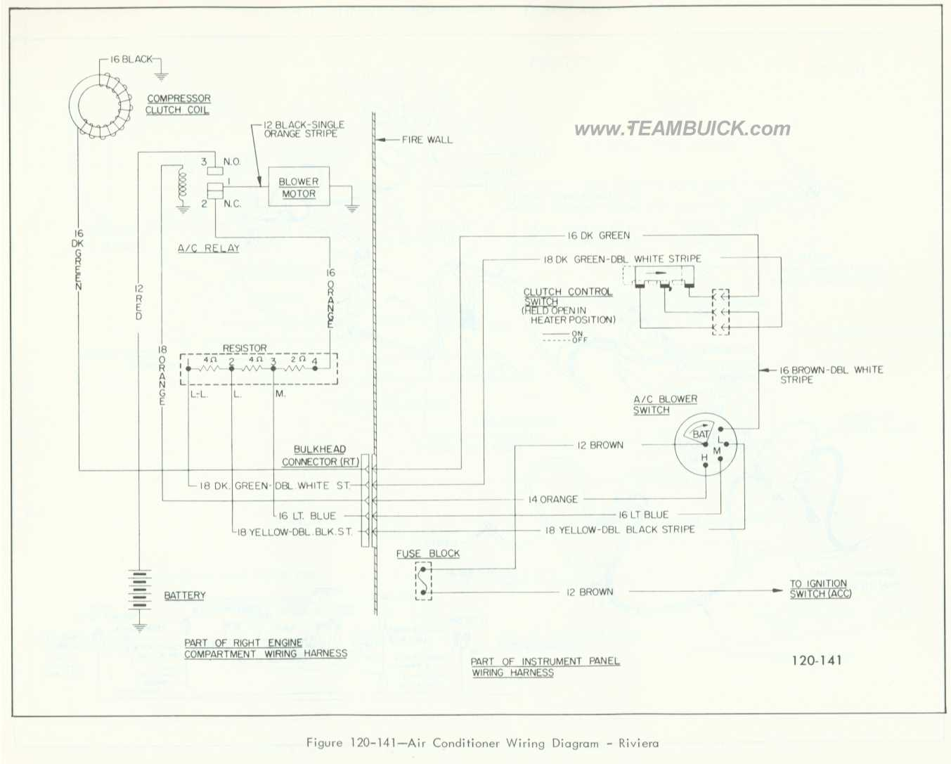 1966 Buick Riviera Wiring Diagram Diagrams 95 Engine Air Conditioner Rh Teambuick Com 1995