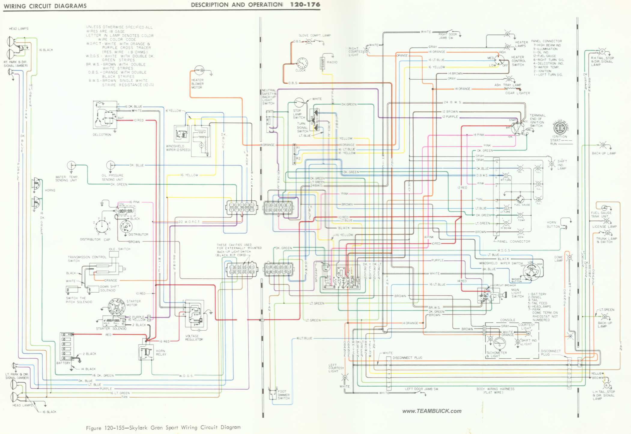 1966 Buick Skylark Gs Wiring Diagram*** 1966 Oldsmobile Cutlass 1966 Buick  Skylark Wiring Diagram