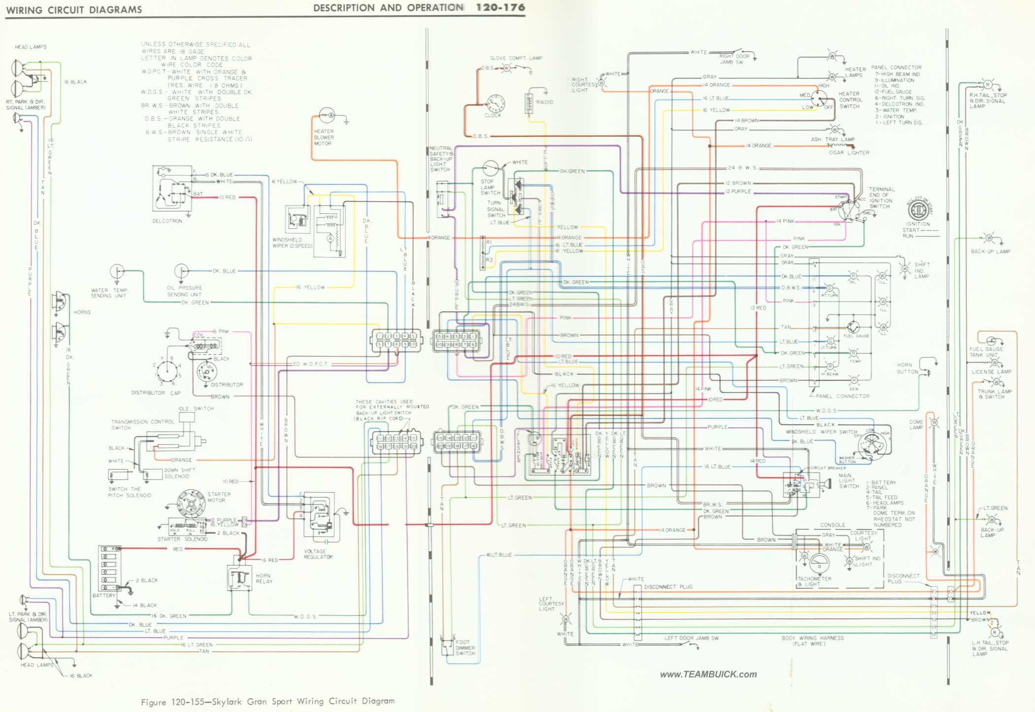 1966 Buick Skylark Gs Wiring Diagram