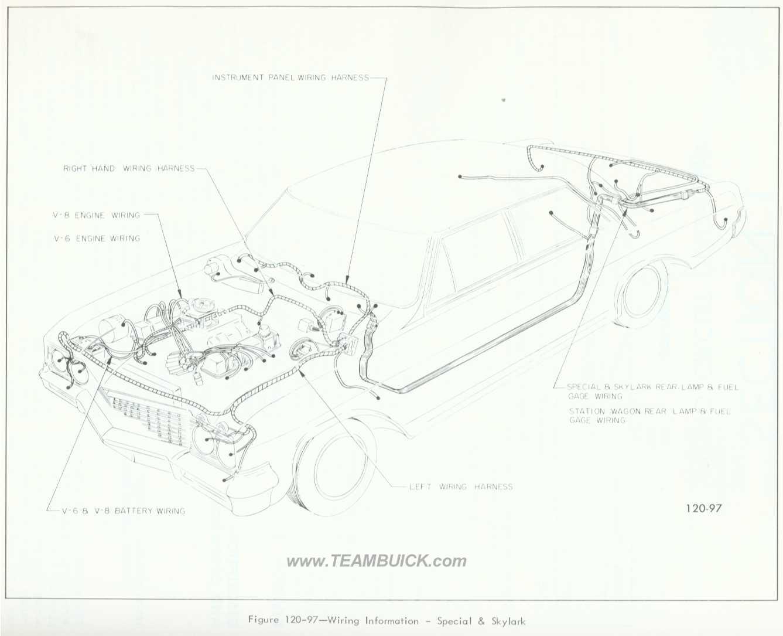 1966 Buick Wiring Diagrams