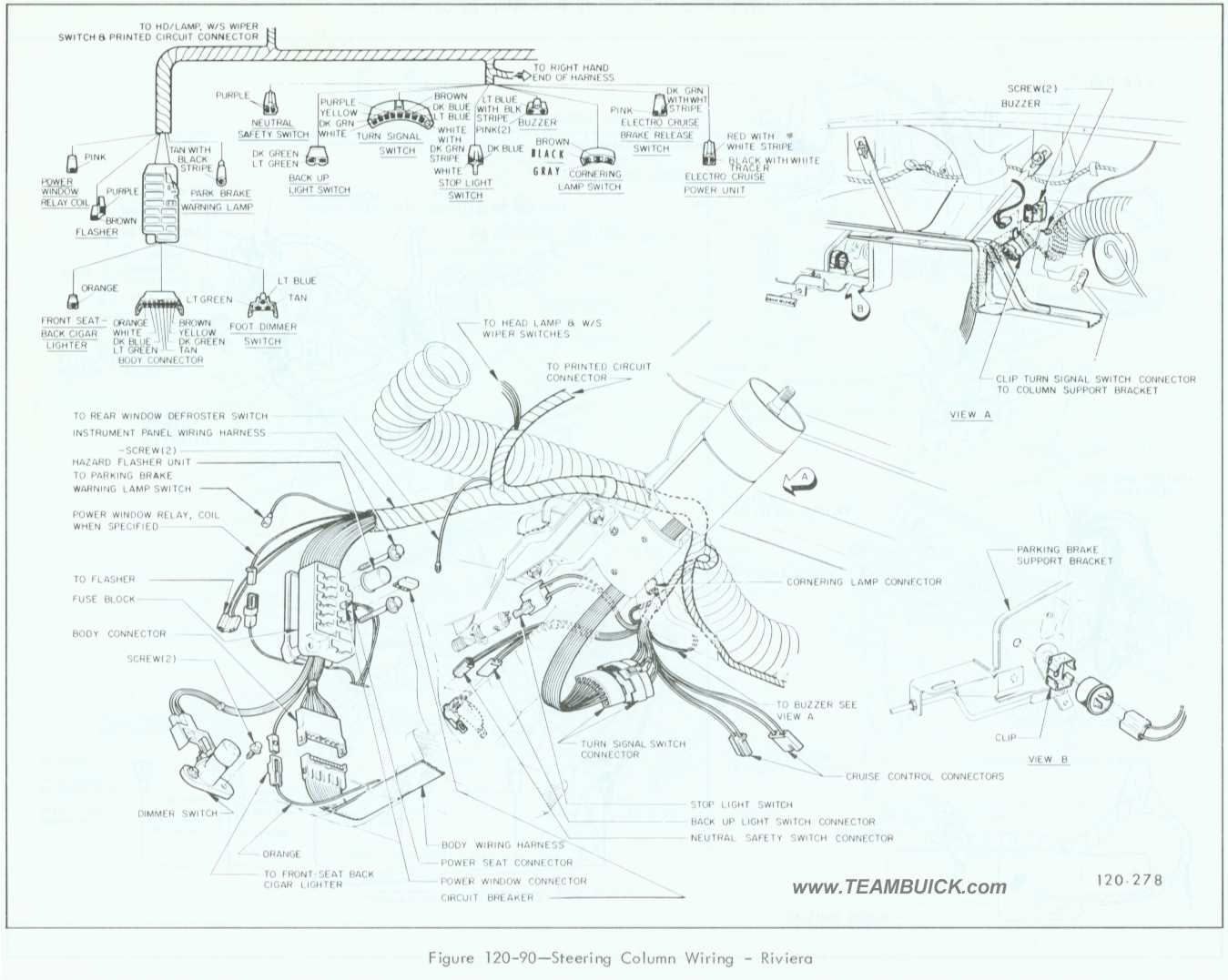 96 Buick Riviera Wiring Schematic Real Diagram Fuse Box Park Avenue 1965 Dodge Dart 1996 Radio