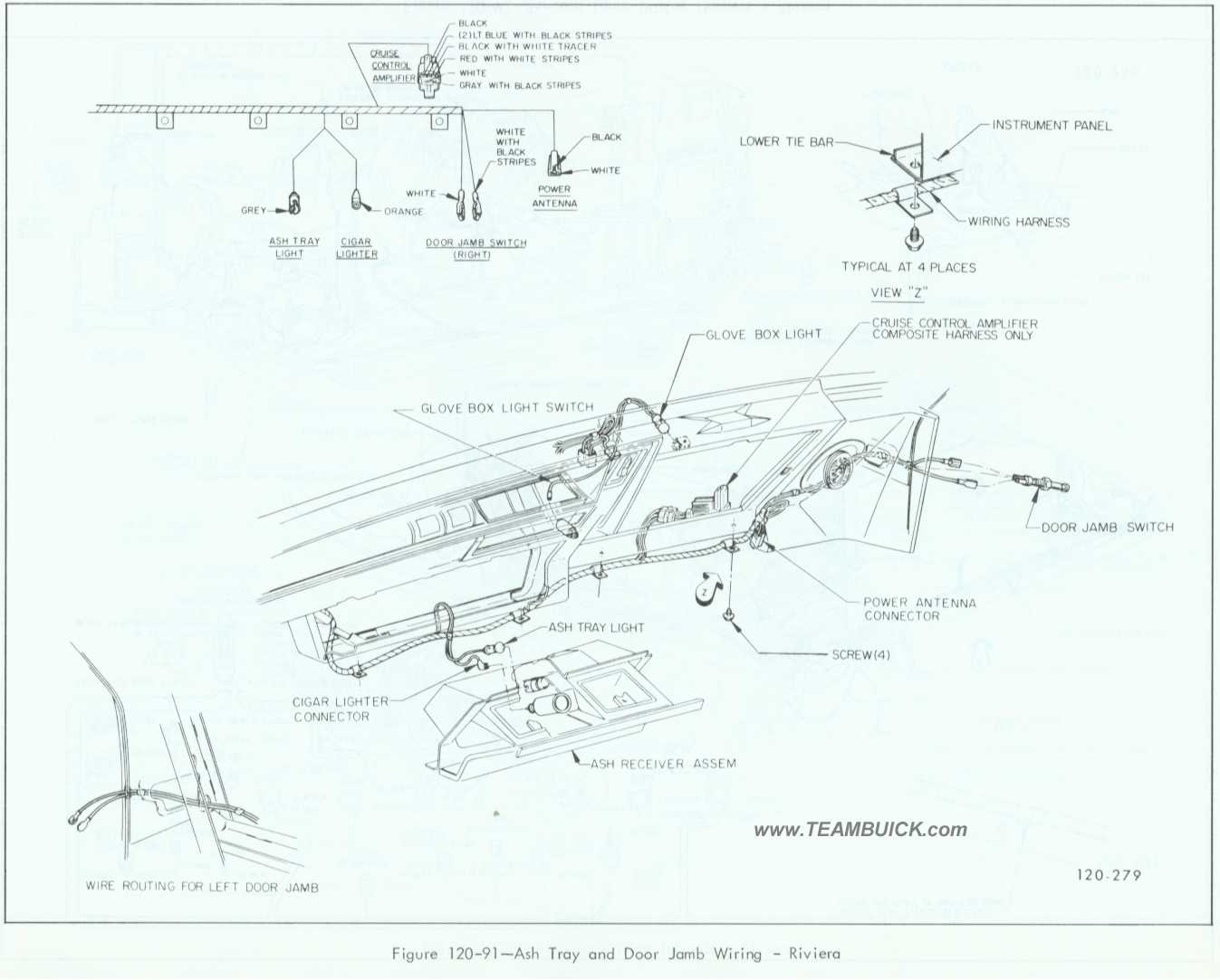 85 buick riviera fuse box diagram