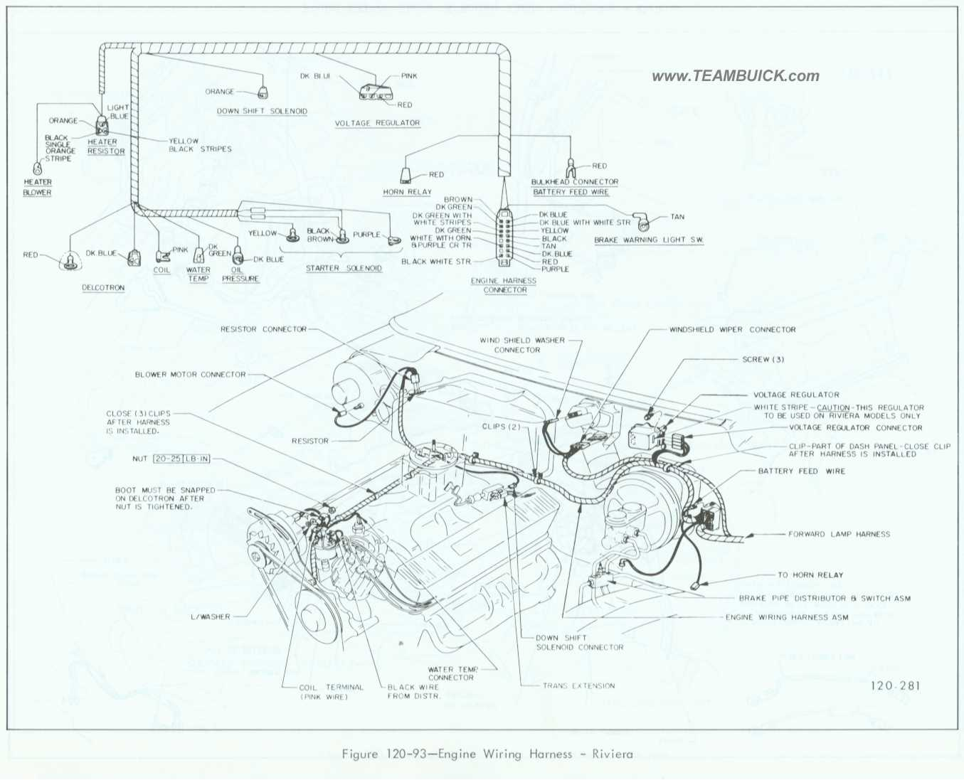 1967 buick riviera engine wiring harness rh teambuick com 1967 vw beetle  engine wiring diagram 1967 chevelle engine wiring diagram